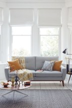 White furniture living room ideas for apartments 21