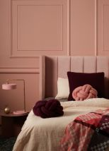 Cool kids bedroom with pink colour 29