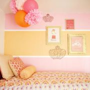 Cool kids bedroom with pink colour 34