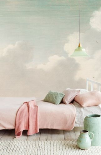 Cool kids bedroom with pink colour 40