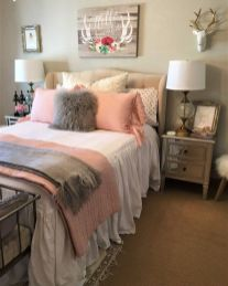 Cool kids bedroom with pink colour 49