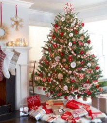 Beautiful scandinavian christmas tree decoration ideas 01