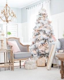 Beautiful scandinavian christmas tree decoration ideas 06