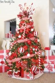 Brilliant ideas christmas tree decoration ideas with ribbon 05