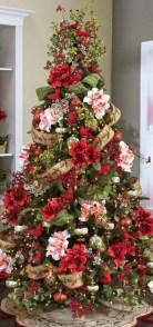 Brilliant ideas christmas tree decoration ideas with ribbon 08