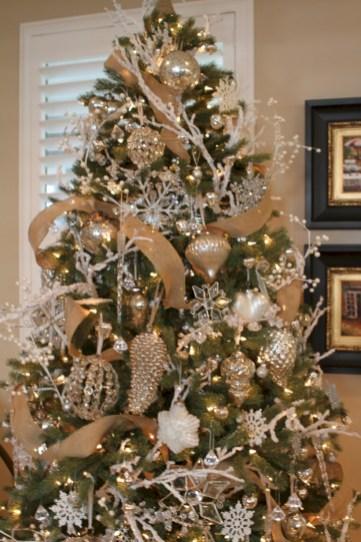 Brilliant ideas christmas tree decoration ideas with ribbon 13