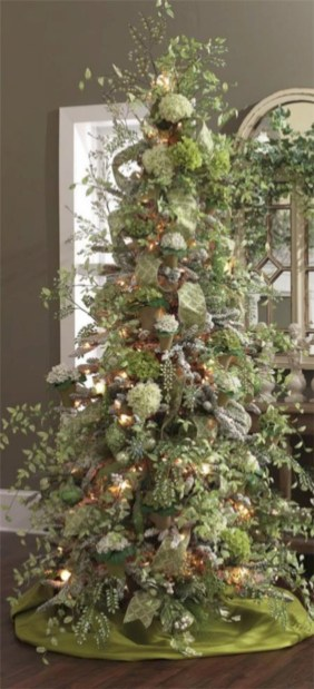 Brilliant ideas christmas tree decoration ideas with ribbon 27