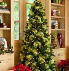 Brilliant ideas christmas tree decoration ideas with ribbon 29