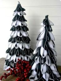 Brilliant ideas christmas tree decoration ideas with ribbon 37
