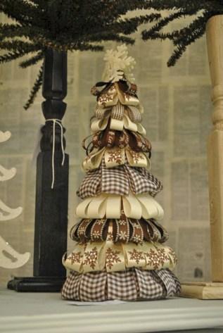 Brilliant ideas christmas tree decoration ideas with ribbon 46