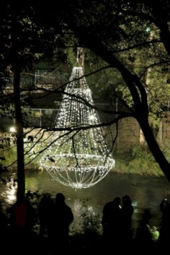Cool homemade outdoor christmas decorations ideas 10