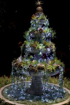 Cool homemade outdoor christmas decorations ideas 24