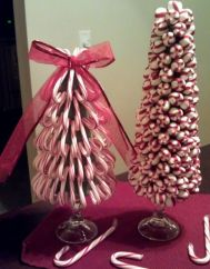 Creative diy christmas table centerpieces ideas 02