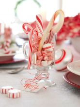 Creative diy christmas table centerpieces ideas 15