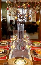 Creative diy christmas table centerpieces ideas 16