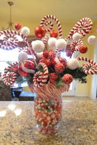 Creative diy christmas table centerpieces ideas 18