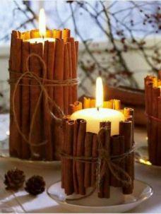 Creative diy christmas table centerpieces ideas 22