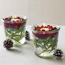 Creative diy christmas table centerpieces ideas 27
