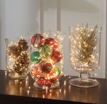 Creative diy christmas table centerpieces ideas 28
