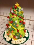 Easy christmas fruit tree centerpieces ideas 12