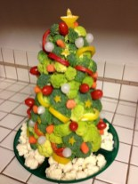 Easy christmas fruit tree centerpieces ideas 12