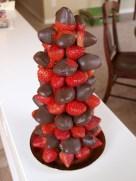 Easy christmas fruit tree centerpieces ideas 13