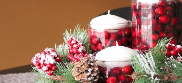 Easy christmas fruit tree centerpieces ideas 14