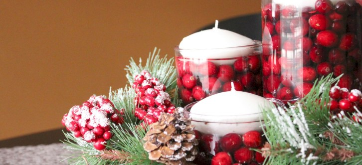 Easy christmas fruit tree centerpieces ideas 14