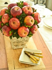 Easy christmas fruit tree centerpieces ideas 15