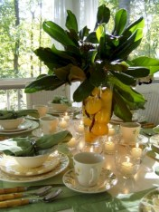 Easy christmas fruit tree centerpieces ideas 25