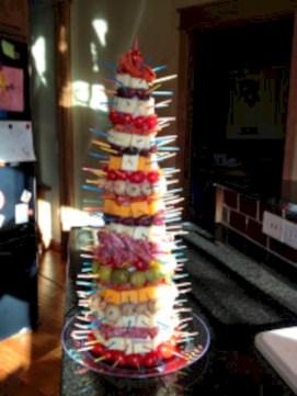 Easy christmas fruit tree centerpieces ideas 35