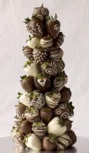 Easy christmas fruit tree centerpieces ideas 36