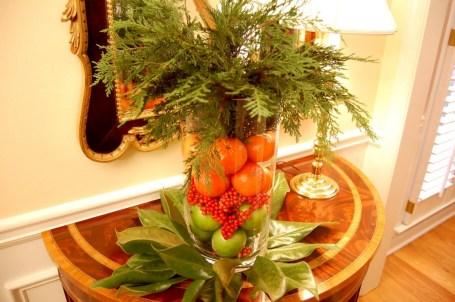 Easy christmas fruit tree centerpieces ideas 37