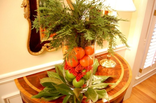 Easy christmas fruit tree centerpieces ideas 37