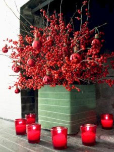 Easy christmas fruit tree centerpieces ideas 41