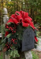 Easy outdoor christmas decorations ideas on a budget 01
