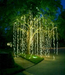 Easy outdoor christmas decorations ideas on a budget 11