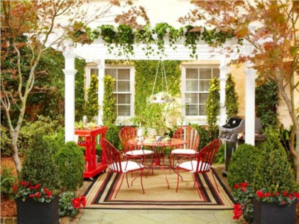 Easy outdoor christmas decorations ideas on a budget 29