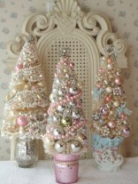 Inspiring chabby chic christmas decoration ideas 11