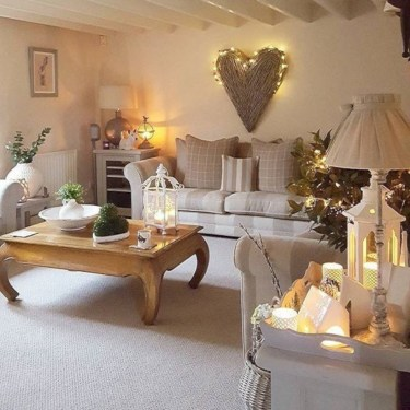 Inspiring chabby chic christmas decoration ideas 18