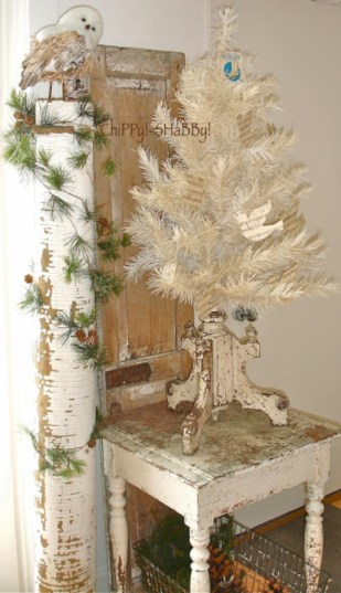 Inspiring chabby chic christmas decoration ideas 31