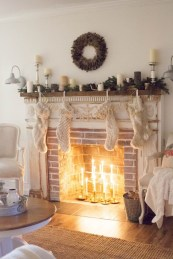 Inspiring chabby chic christmas decoration ideas 36