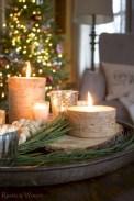 Minimalist christmas coffee table centerpiece ideas 01