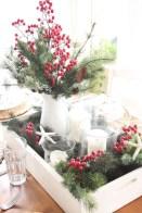 Minimalist christmas coffee table centerpiece ideas 16