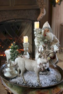 Minimalist christmas coffee table centerpiece ideas 20
