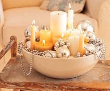 Minimalist christmas coffee table centerpiece ideas 23