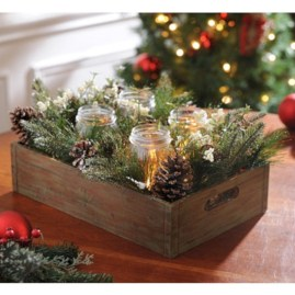 Minimalist christmas coffee table centerpiece ideas 28