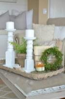 Minimalist christmas coffee table centerpiece ideas 29