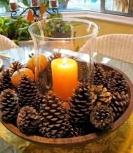 Minimalist christmas coffee table centerpiece ideas 35