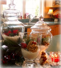 Minimalist christmas coffee table centerpiece ideas 36